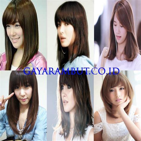 Masker Wajah Oval 89 model rambut wanita korea untuk wajah bulat paling