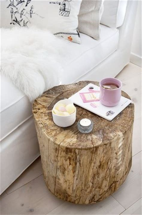 25 best ideas about tree trunk table on log