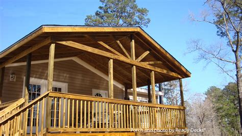 Wrap Around Deck Designs by Affordable Porch Design Ideas Porch Designs For Mobile Homes