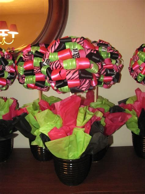 ribbon topiaries crafts i ve made pinterest