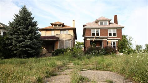 buying a derelict house in detroit people are urged to get a second mortgage when