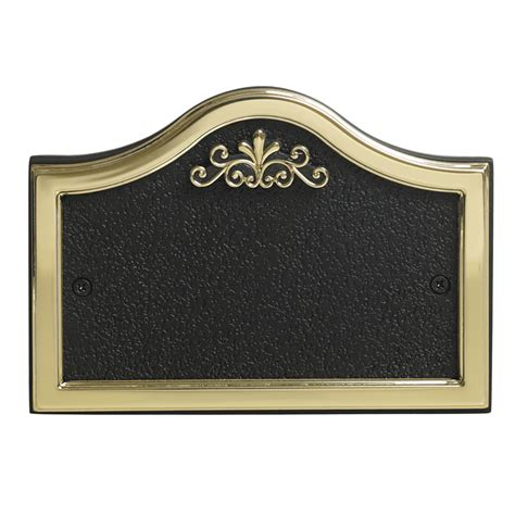 house plaques wilko house number plate pullman design black and gold at wilko com