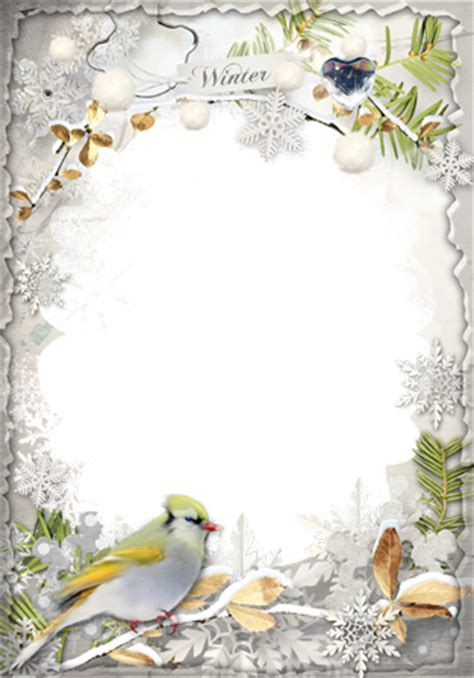 cornici publisher photo frames winter knocking to the door