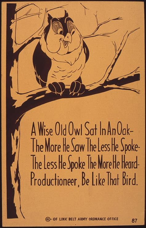 Koko What I Like Version Size S Dan M file a wise owl sat in an oak the more he saw the