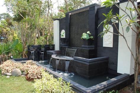 desain kolam ikan depan rumah minimalis kolam ikan air mancur jasa pembuatan taman minimalis