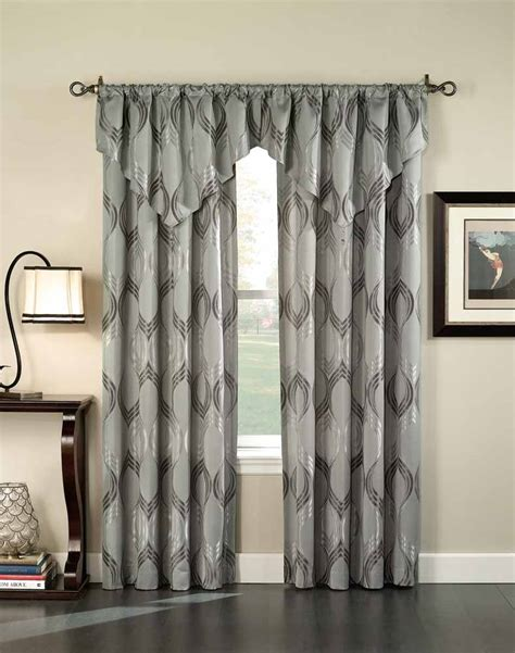 contemporary valance curtains contemporary drapes