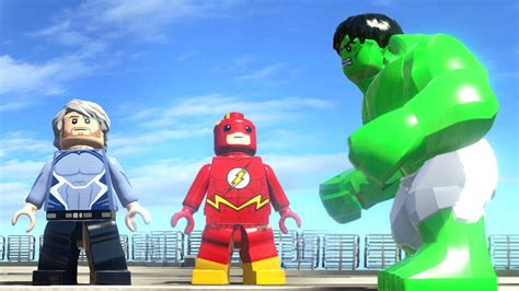 movie quicksilver vs flash flash quicksilver vs hulk lego marvel super heroes