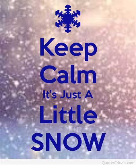 keep calm it s winter quotes