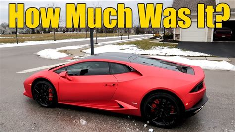 Cost Of Lamborghini Huracan by How Much Does A Lamborghini Huracan 610 4 Cost