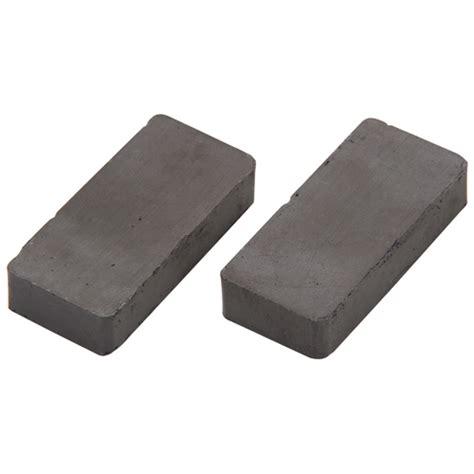1 Ceramic Magnets - 2 pc ceramic block magnets
