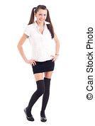 preteen school uniform girl teen girl school uniform stock photo images 2 992 teen