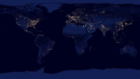 wallpaper earth at night wallpaper night earth planet map nasa lights earth