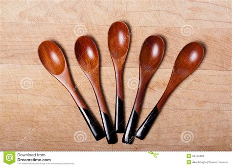 Handcrafted Wooden Spoons - handcrafted wooden spoons stock photos image 23473483
