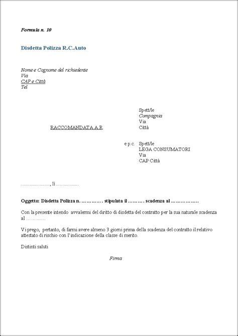 lettere di disdetta affitto lettera disdetta affitto business e educazione modello