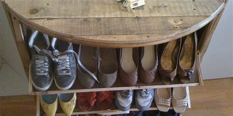 Inspirations Creative The Door Shoe Rack Design For Space Saving Ideas Space Saving 25 Diy Shoe Rack Ideas Keep Your Shoe Collection Neat And Tidy Home And Gardening Ideas