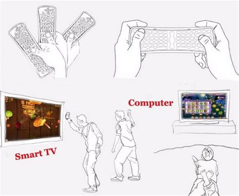 Keyboard Wireless Portable With Touchpad Cocok Untuk Smarttv Pc jual keyboard wireless mini ringan portable