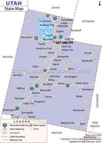 A Map Of Utah by Map Of Utah Related Keywords Amp Suggestions Map Of Utah
