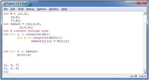 python tutorial javatpoint python transpose matrix javatpoint
