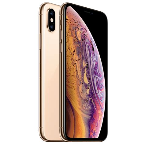 apple iphone xs gb  lte gold