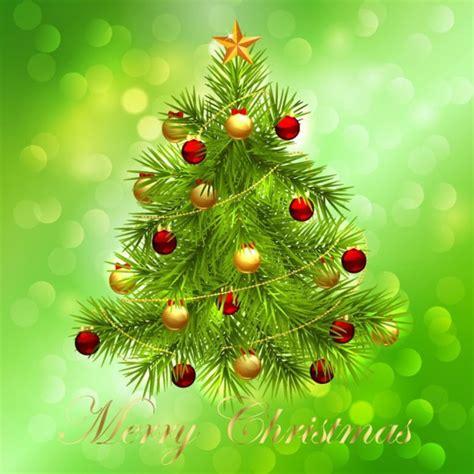 imagenes navidad verde 225 rbol de navidad en verde bokeh descargar vectores gratis