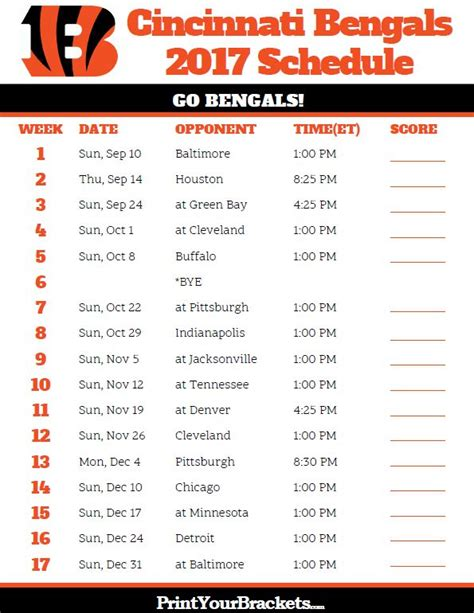 printable giants schedule 17 best images about printable nfl schedules on pinterest
