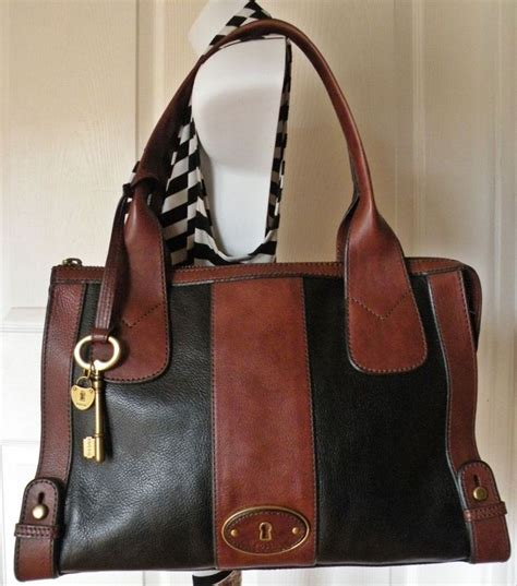 Fossil Satchel Abstrac 25 best ideas about weekender tote on totes leather weekend bags and leather bag