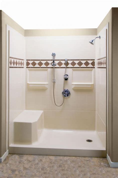 Modern Lowes Shower Enclosures For Cozy Bathroom Ideas Ada Shower Doors