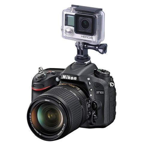 Flash Gopro foray m cg tripod to slr flash shoe mount