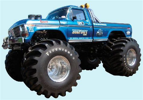 original bigfoot monster truck bigfoot original monster truck peel and stick wall