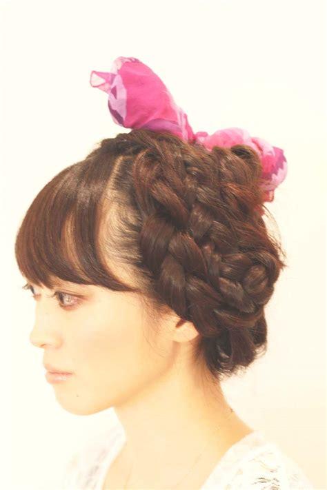 Cetakan A New Style 1 編み込み のヘアスタイル 見本 編込み 髪型カタログ 編み込みヘアのヘアアレンジ見本 編みこみ 髪型カタログ naver まとめ