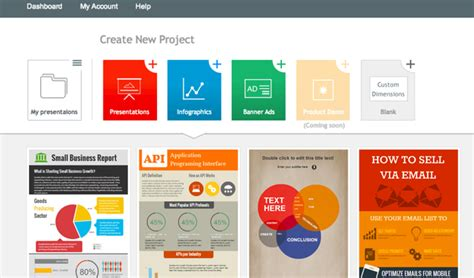 5 Great Online Tools For Creating Infographics Huffpost Interactive Infographics Templates