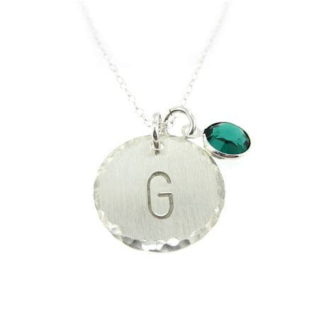 sterling silver monogram jewelry aj s collection personalized jewelry monogram sterling silver pendant necklace