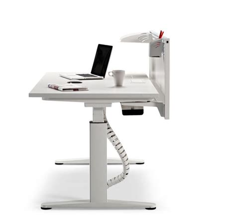 Electronic Height Adjustable Desk by Electronic Height Adjustable Desks Mobus 1200mm X