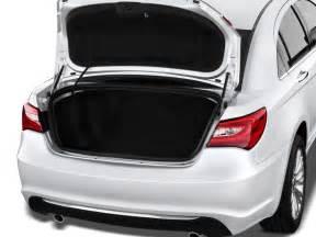 Chrysler 200 Trunk Image 2012 Chrysler 200 4 Door Sedan Limited Trunk Size