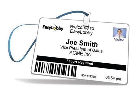 visitor badge template easylobby updates