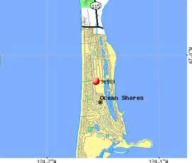 Ocean Shores Washington Map by Ocean Shores Washington Map