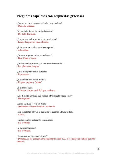 preguntas capciosas biblia respuesta recursos payasos