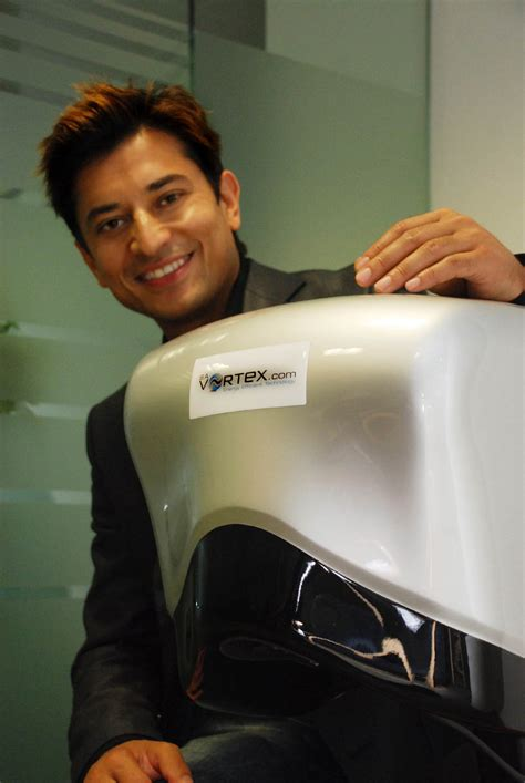 Start Business From Home syed ahmed ceo with the smart vortex hand dryer kent