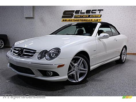 2009 Mercedes Clk350 by 2009 Mercedes Clk 350 Cabriolet In White