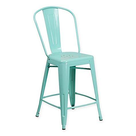 Flash Furniture Metal Stool flash furniture 24 inch metal stool bed bath beyond