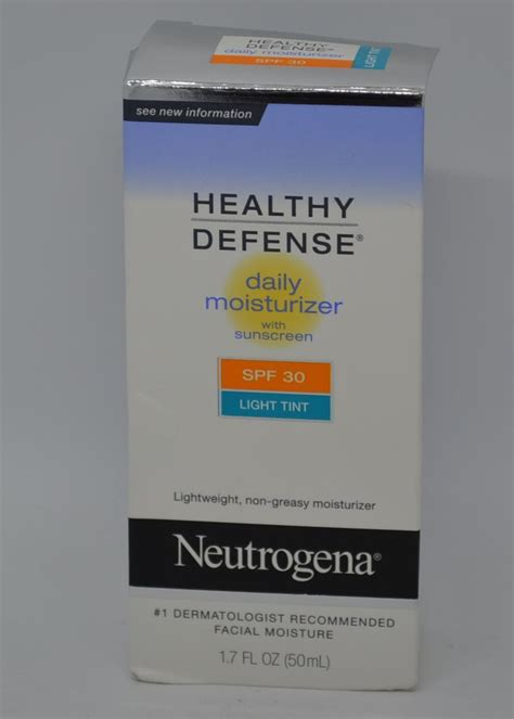 neutrogena healthy defense daily moisturizer light tint neutrogena healthy defense daily moisturizer spf 30
