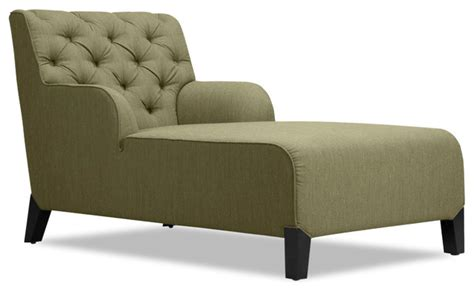 day chaise southwark green chaise longue armchair modern indoor