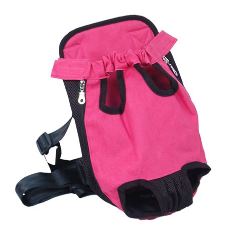 pouch carrier denim pink front kangaroo pouch pet carrier swagger wagger
