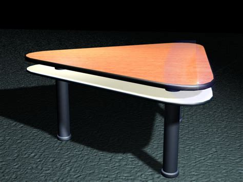 Triangle Conference Table Triangle Conference Table 3d Model 3d Studio 3ds Max Files Free Modeling 25589 On Cadnav