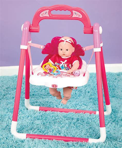 toy baby swing baby doll musical swing and accessories excellent