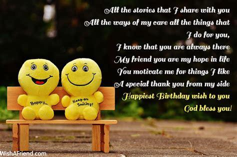 birthday wishes for best friend best friend birthday wishes page 7