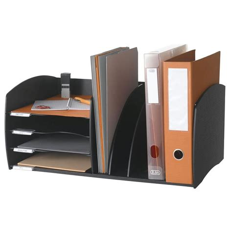Desk Filing Organizer Desktop Organizer In File And Mail Organizers