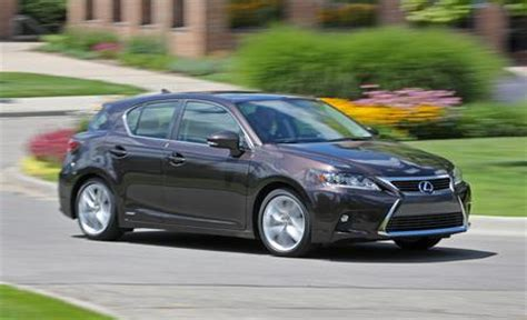 lexus 200 ct h 2016 lexus ct200h review car and driver