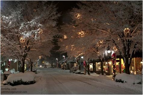 nc history of snowy christmas snowy times in downtown waynesville sweet iced tea