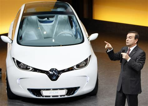 nissan renault car renault nissan mitsubishi bet on electric cars robo